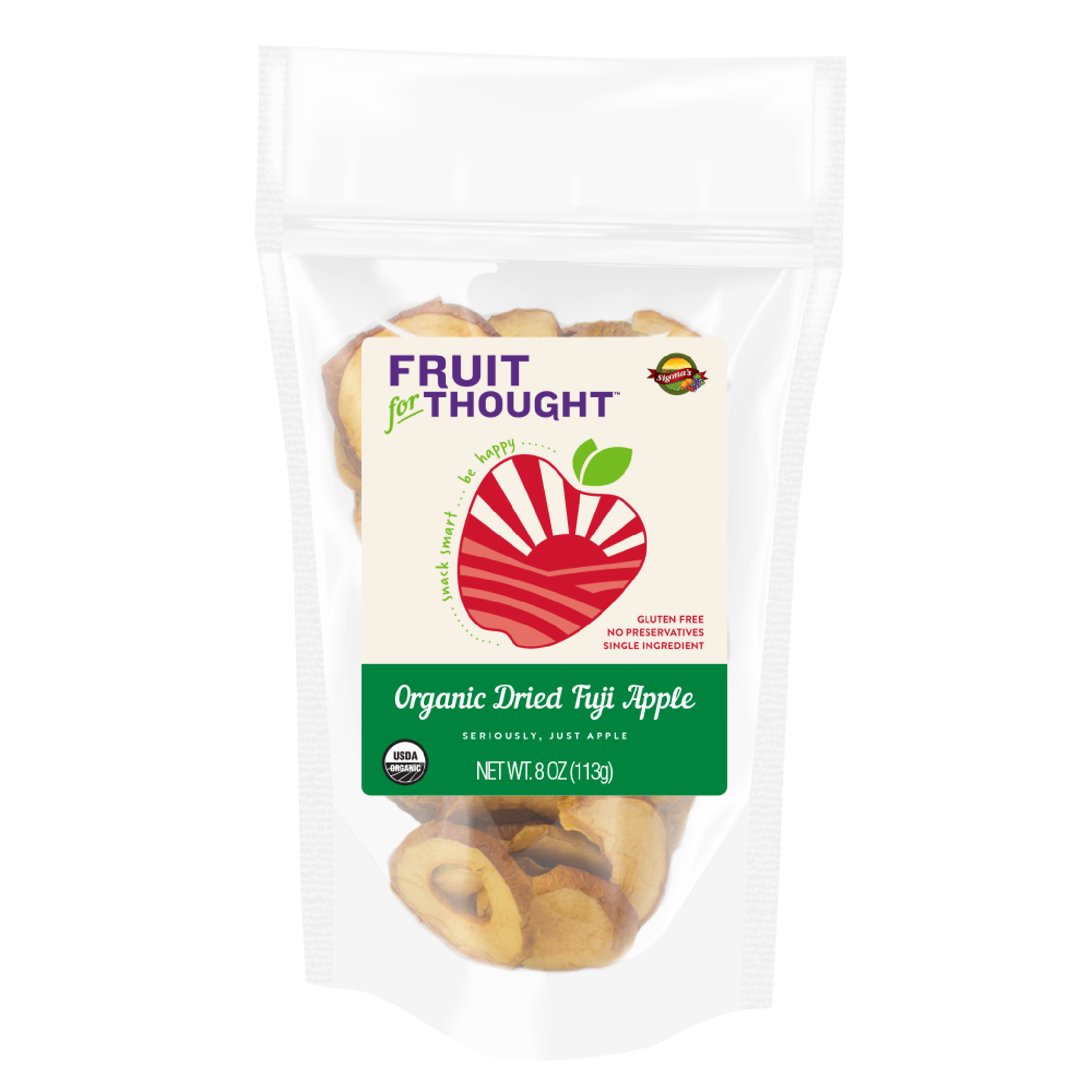 Organic Fuji Apple 8oz Bag