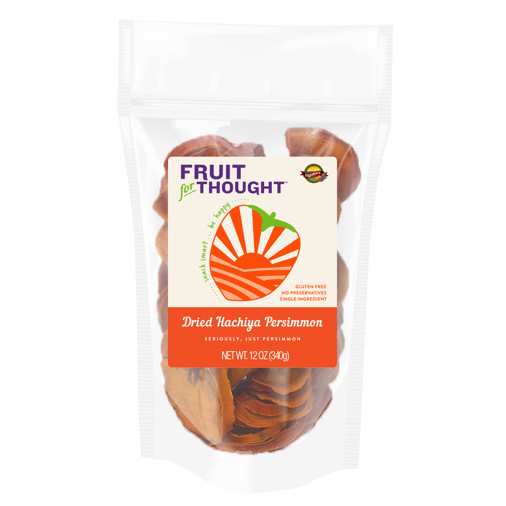 Dried Hachiya Persimmon 12oz bag